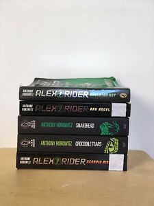 Alex Rider Books (5/10)