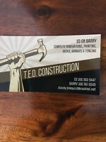 TED Construction Ltd - all renovations