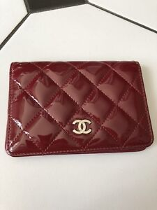 Authentic Chanel card case