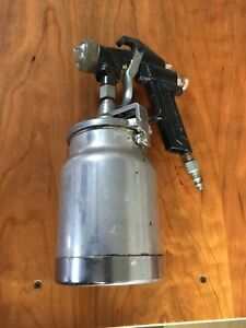 HVLP siphon feed paint spray gun