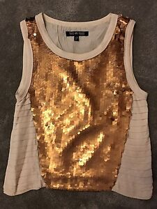 Bronze sequin top Collinswood Prospect Area Preview