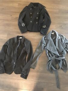 LOT OF 3 XS DRESS COATS