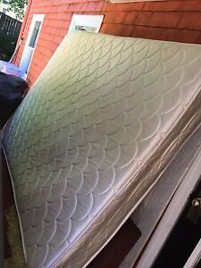Queen size mattress and box spring  Free delivery