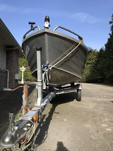 14' Kimple with 25hp Outboard
