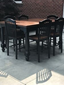 Counter High~ Bar High Pub Style Dining Kitchen Set