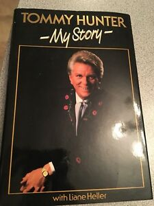 Tommy hunter Canadian country star signed book