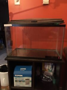 10 gallon tank with stand
