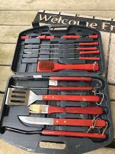 Barbecue tools c with case