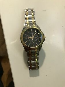 Bulova Gold Watch — men's watch