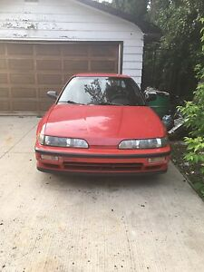 2 1991 Acura Integra IRS model