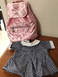 Baby Born Doll Backpack and School Uniform Wattle Grove Kalamunda Area Preview