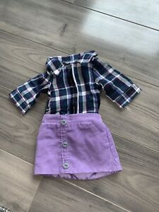 Canadian girl doll outfit