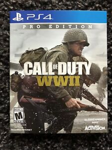 Call of Duty WW2 Steel Book Ver. PS4