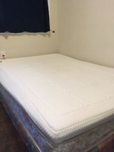 2 inch memory foam for double bed
