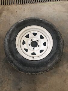 Trailer tire used