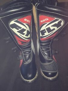 Brand new, FLY Racing 805, boys dirt bike boots, men's size 8