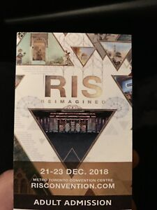 RIS Conference Tickets