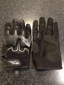 Gants moto textile, Alpinestars Figther air, 2XL, comme neuf