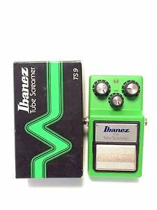 Ibanez TS9, Tubescreamer, Overdrive, Boxing -- FREE POSTAGE -- Brisbane City Brisbane North West Preview