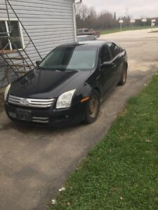 2008 Ford Fusion v6 awd sel part out