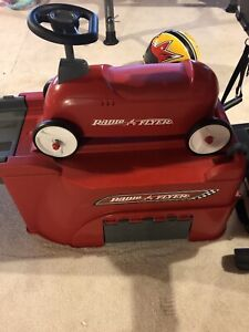 Radio flyer up and down roller coaster - 6 feet long