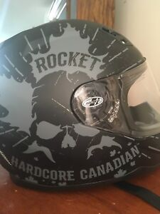 Joe Rocket 7 series Hardcore Canadian motorcycle helmet