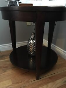Coffee Table and Two End Tables. The Bay