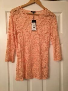 Pink Lace Top - NEW with tags