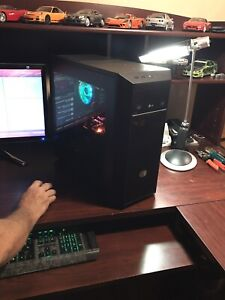 Pro gaming  pc brand new with goodies