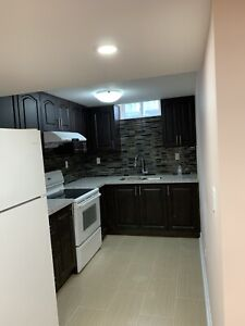 Beautiful one bed room basement available