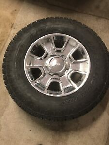 275/70/18 tire and wheel package