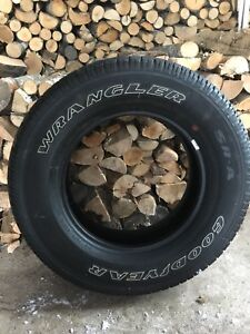 4 New Goodyear 275/65/R18 tires