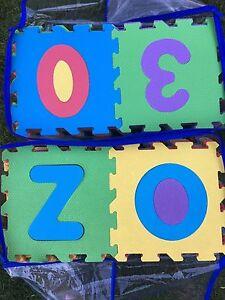 Imaginarium Alphabet & Numbers Foam Playmat