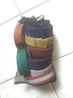 Karate belts. Kids size. Whole bag $10