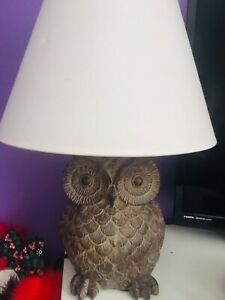 Owl Bedding, Sheets and Lamp
