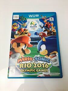 Wii U Mario and Sonic at Rio Olympics 2016