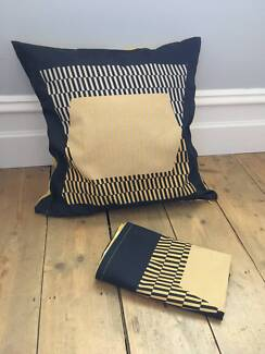 IKEA Klipport cushion covers and duck down cushion inner.