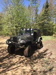 Jeep yj 1990 plaqué