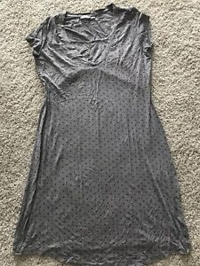 Thyme maternity nightgown with nursing opening
