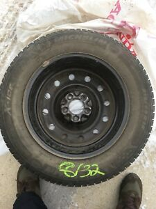 Michelin X Ice 3 Winter Tires and Rims