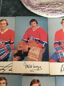 Carte hockey à Collectionner ( canadien 1976-1977)