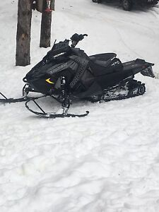 2017 Polaris assault 800 for trade