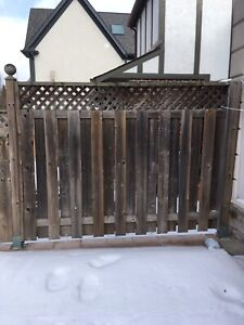 ALMOST FREE FENCING