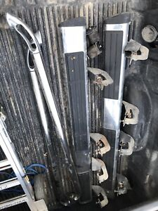 2010 GMC Sierra side steps and stainless steel box rails
