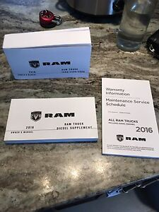 2016 Dodge Ram manuals