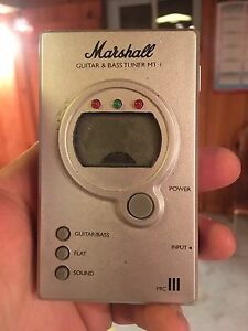 Marshal guitar tuner/bass tuner