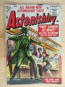 Astonishing #42 (Oct. 1955)