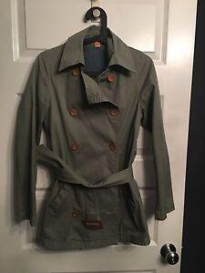 army green women's jacket