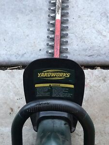 Yard works hedge trimmer for sale