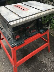 Banc de scie Bosch 4000 table saw + support